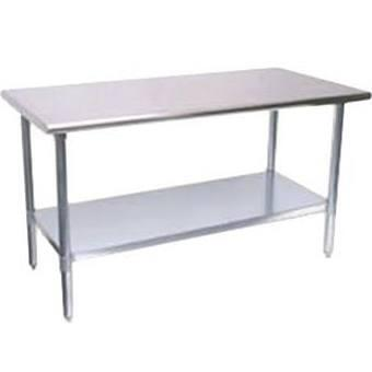 "Turbo Air TSW2 X 24"" X 34"" Mid-Grade Work Table with Stainless Steel Table Top"