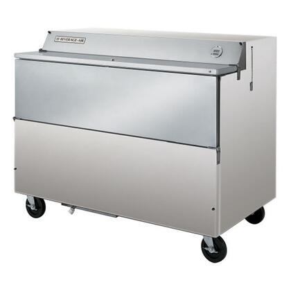 """Beverage-Air Beverage-Air SMF58 58"""" Single Sided Flip Top Milk Cooler with 24.8 Cu. Ft. Storage Capacity, 16 Milk Crates Capacity, Environmentally friendly refrigeration, 7"""" casters, Exterior thermometer"""