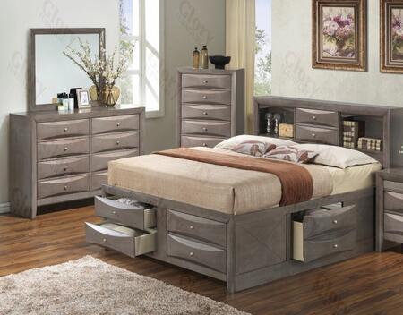Glory Furniture G1505GQSB3DM G1505 Queen Bedroom Sets