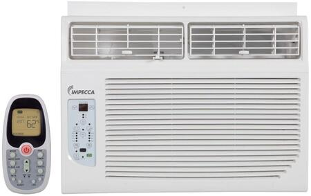 Impecca IWAxKR15 Electronic Controlled Window Air Conditioner with Remote, 4 Way Air Direction, Auto Restart, Clean Filter Indicator, Installation Kit, 24 Hour Delay, 3 Cooling Speeds, 3 Fan Speeds, White