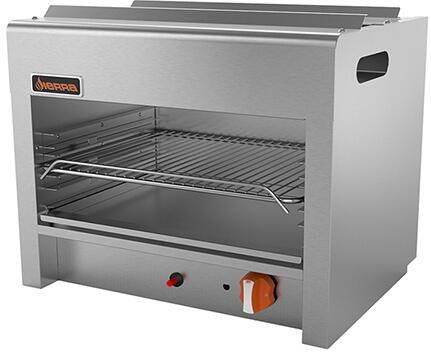 "Sierra SRCMx "" Cheesemelters with Burners, 20000 BTU Per Burner, Total BTU, in Stainless Steel"