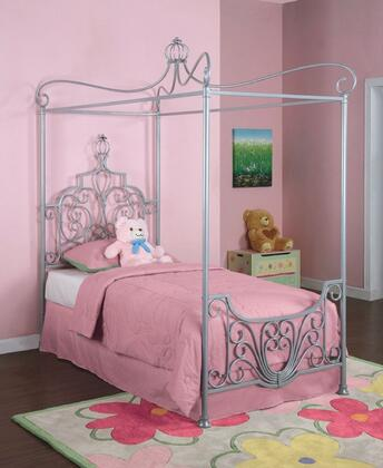 Powell 374106 Princess Series  Twin Size Canopy Bed