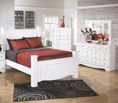 Milo Italia BR418QPSBDM Waters Queen Bedroom Sets