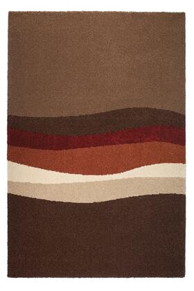 Citak Rugs 6432-370X Studio Collection - Motion - Brown