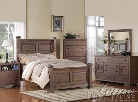 Acme Furniture 20193  Wood Night Stand