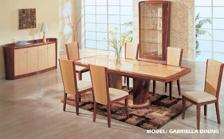 Global Furniture USA GABRIELLADTSET Global Furniture USA Din