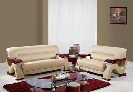 Global Furniture USA U2033CAPPSL Living Room Sets