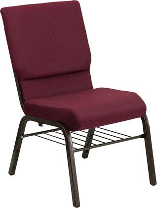 Flash Furniture XUCH60096BYXY56BASGG Hercules Series Armless Fabric Metal Frame Accent Chair