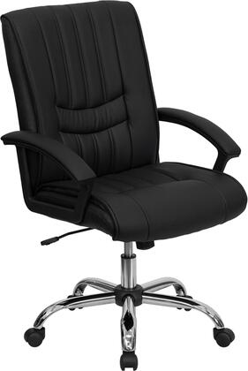 "Flash Furniture BT9076BKGG 25.25"" Adjustable Contemporary Office Chair"
