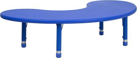 Flash Furniture YUYCX0042MOONTBLBLUEGG