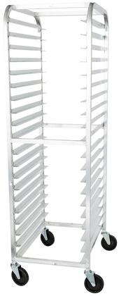 Advance Tabco PR20-3W Mobile Front Load Bun Pan Rack with 20 Pan Capacity