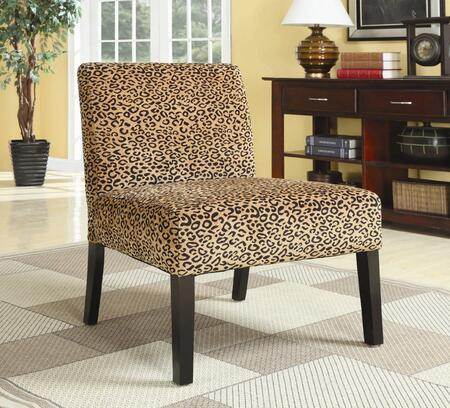 Coaster 90018 Patterned Accent Chair by Coaster Co.