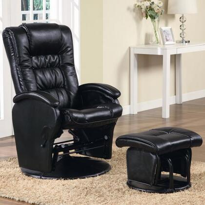 Coaster 600154 Tyler Series Contemporary Vinyl  Recliners