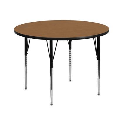 Flash Furniture XUA42RNDOAKTAGG