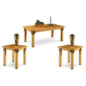 "Lane Furniture 1200103 47.75"" Casual Living Room Table Set"