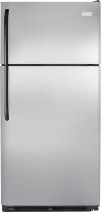 Frigidaire FFHT1816PS Freestanding Top Freezer Refrigerator with 18.3 cu. ft. Total Capacity 2 Glass Shelves 4.1 cu. ft. Freezer Capacity  Appliances Connection
