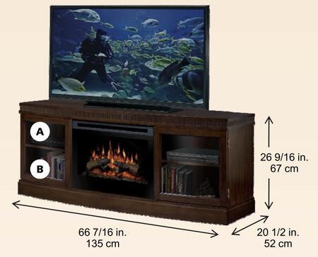 Dimplex GDS251021BW  Fireplace
