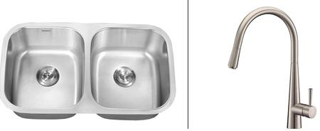 Ruvati RVC2523 Kitchen Sink