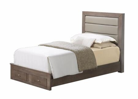 Glory Furniture G2405CTSB G2400 Series  Twin Size Storage Bed