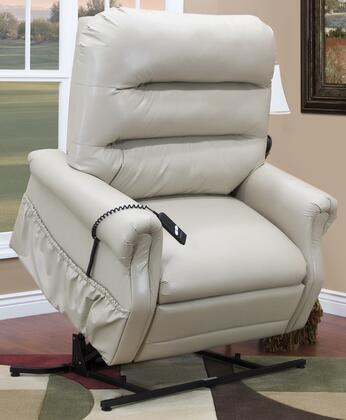 MedLift 3653IV Contemporary Vinyl Wood Frame  Recliners