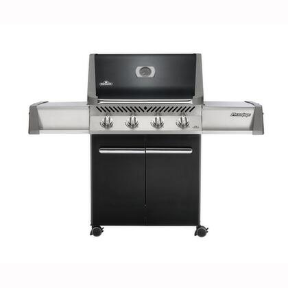 "Napoleon P500NK Freestanding 64"" Natural Gas Grill, in Black"