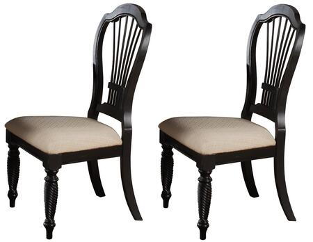 Hillsdale Furniture 4509802 Wilshire Series Transitional Fabric Wood Frame Dining Room Chair