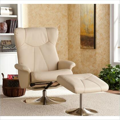 Holly & Martin 85043046114 Modern Bonded Leather Metal Frame  Recliners