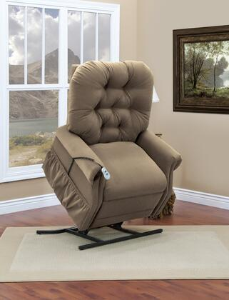 MedLift 3555AALB Contemporary Fabric Wood Frame  Recliners