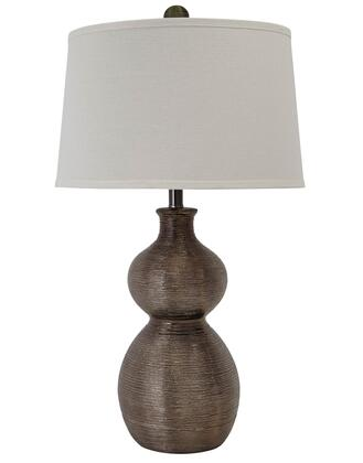 Gunmetal Finished Lamp