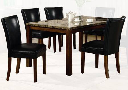 Coaster 120310set5 telegraph dining room sets appliances for Dining room furniture 0 finance
