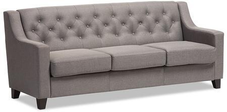Wholesale Interiors Arcadia 1BBT8021-SF-Grey-XD45 Side View