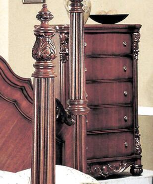 Yuan Tai 5295CH Savannah Series Wood Chest