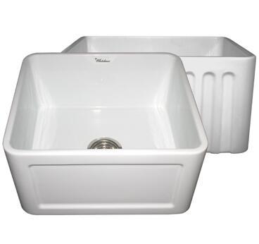 Whitehaus WHFLCON2018BL Kitchen Sink