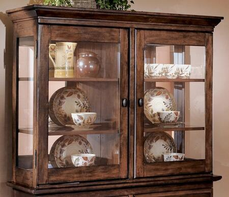 Signature Design by Ashley D44281 Larchmont Series Hutch with 4 Shelves
