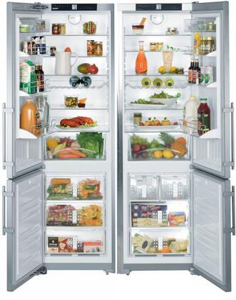 Liebherr SBS26S1 Side-By-Side Refrigerators
