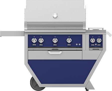 54 in Deluxe Grill with Side Burner    Lush