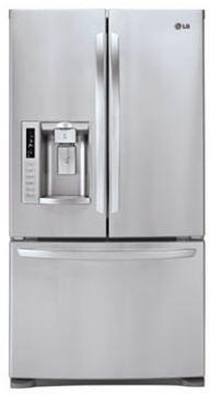 LG LFX28979ST  French Door Refrigerator with 27.6 cu. ft. Total Capacity 4 Glass Shelves