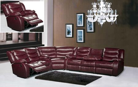 Meridian 644BURGSLCW Gramercy Living Room Sets