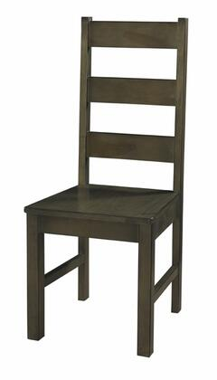 Powell 846436 Rustic not Wood Frame Dining Room Chair
