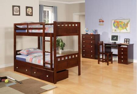 Donco 0104CPTT  Twin Size Bunk Bed