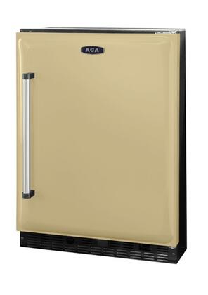 AGA AAR24CRM  Built In Counter Depth Compact Refrigerator with 6.1 cu. ft. Capacity, 2 Glass Shelves