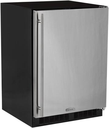 "Marvel ML24RIS3RS 24""  Compact Refrigerator with 4.9 cu.ft. Capacity in Stainless Steel"