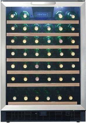 """Danby DWC508BLS 23.8125"""" Built-In Wine Cooler"""