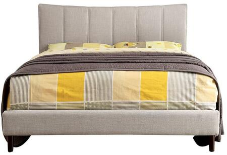 Furniture of America CM7678BGCKBED Ennis Series  California King Size Bed