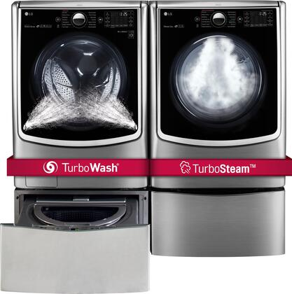 LG 719195 TurboWash Washer and Dryer Combos