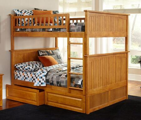 Atlantic Furniture AB59527  Full Size Bunk Bed