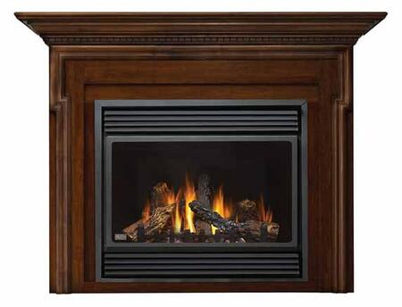 Napoleon MPSFXTCB33 Princess Small Flat Cabinet Fireplace Mantel in X: Creame/Beige Tile