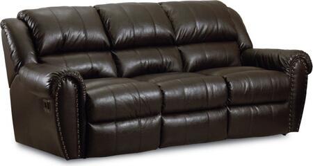 Lane Furniture 2143996549621 Summerlin Series Reclining Leather Sofa