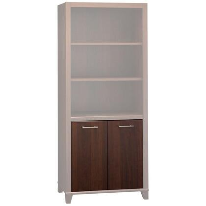 Bush Furniture PR67X66 Achieve Collection Door Kit for Bookcase to provide closed storage
