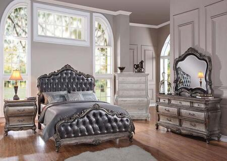 Acme Furniture 20537EK4PCSET Chantelle King Bedroom Sets